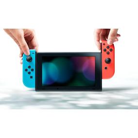 Nintendo Switch Neon Luigi Video Game Tienda
