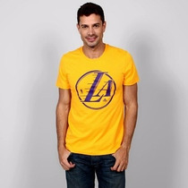 Playera Adidas Nba Los Angeles Lakers - Talla L