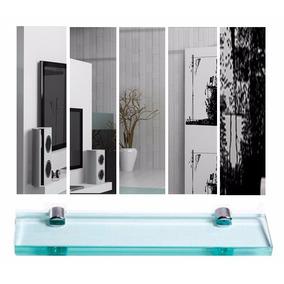 Espelho Para Banheiro (75x60cm) + Prateleira De Vidro