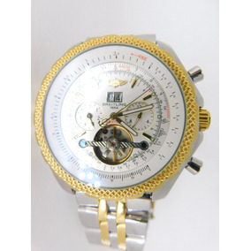 e3d6ed814ec Relogio Breitling Dourado Bentley - Relógios De Pulso no Mercado ...