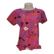 Camiseta T-shirt Feminina Estilosa Estampada Colorida