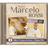 Padre Marcelo Rossi O Tempo De Deus + Mega Hits Cd Duplo Lac