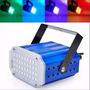 Estrobo 36 Leds Rgb 10w Audioritmico Luz Multicolor Luces