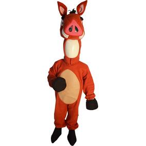 Disfraz De Jabali Inspirado En Pumba Del Rey Leon