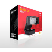 Webcam C3tech - Câmera Hd 720p Wb-70 Preta
