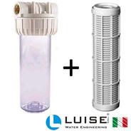 Filtro Partículas 60um Para Agua Luise (italia) Rosca Ø1