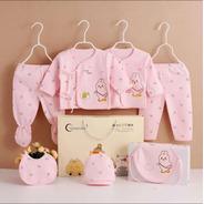 Ajuar Bebe Set Ropita + Caja Regalo Especial Baby Shower