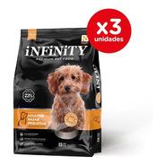 Alimento Perro Razas Pequeñas Infinity Premium Pack 3 X 8 Kg
