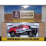 Toyota Hilux 2015 Rally Dakar Escala 1:43 El Tiempo