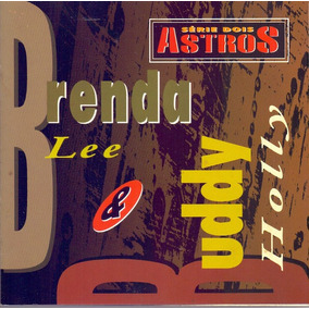 Cd Brenda Lee E Buddy Holly Serie Dois Astros Novo***