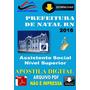 Apostila Dig Prefeitura De Natal Rn Assistente Social 2016