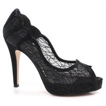 Sapato Laura Porto Peep Toe | Zariff
