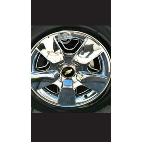 Tapones De Rin 20 De Chevrolet Cheyene Cromadas Originales