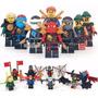 Ninjago Boneco Lloyd Cole Jay Kai Zane Kit Boneco Lego