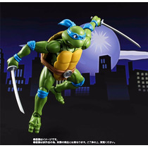 Tortugas Ninja Leonardo Sh Figuarts Bandai Ya Disponible
