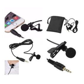 Microfono Lavalier Solapa Celular Iphone Android