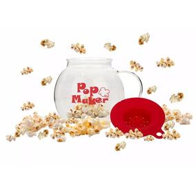 Pop Maker Jar Para Hacer Palomitas Saludables Microondas
