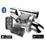 Escapamento Esportivo De 2 Fiat Ducato-10 Com Bluetooth