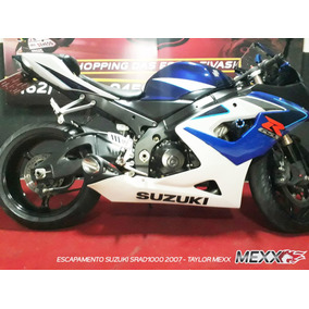 Escapamento Suzuki Srad1000 2007 - Taylor Mexx