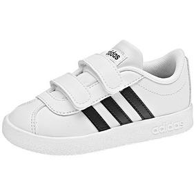 Tenis adidas V| Court Db1839 Blanco-negro Unisex Oi