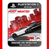 Need For Speed Most Wanted Ps3 Digital Promocion