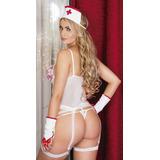Disafraz Enfermera Sexy Mujer Conjunto Sensual Tuladosexy