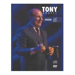 Dvd+cd Tony Angeli Vivere 50 Anos