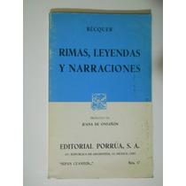 Rimas, Leyendas Y Narraciones Gustavo Adolfo Becquer Envio