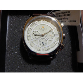 Reloj Para Hommbre Haste 142427652 Redondo Beige Y Marron