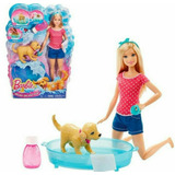 Barbie Baño De Perritos Mattel Original