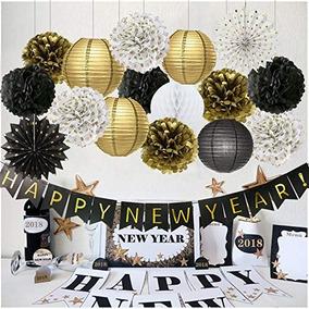Feliz Año Nuevo Feliz Decoraciones De Año Nuevo Banner Linte