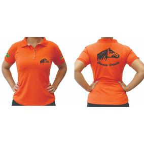 Camiseta Polo Cavalo Crioulo Feminina Masculina Promoção