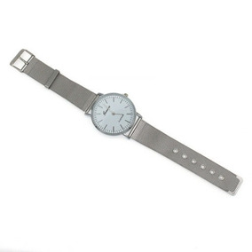 ¡regalos! Reloj De La Muñeca Ginebra Hombres... (silver)