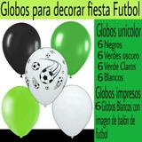 Globos Para Decorar Fiesta Balón De Futbol. 30 Unidades.