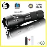Lanterna Tática 5 Funções + Carregador E Bateria Recarregave