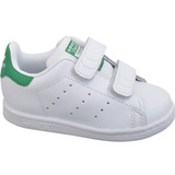 Originals adidas Stan Smith Tenis Kids 1 White & Green Gym