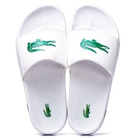 Sapato Branco Lacoste - Sapatos no Mercado Livre Brasil dbd5f29b3d