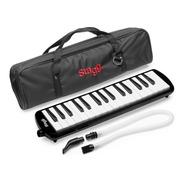 Stagg Flauta Melodica 32 Notas Incluye Funda Showmusic