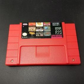 100 Em 1 Super Nintendo Snes Everdrive Mario Contra Pateta