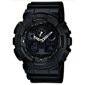 Reloj Casio G-shock Resistant Ga-100-1a1cu Digital Analog