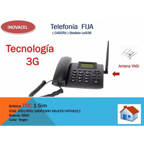 Telefono Rural 3g + Antena De 40 Elementos Unefon Iusacel