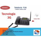 Telefono Rural 3g + Antena De 40 Elementos Telcel Movistar