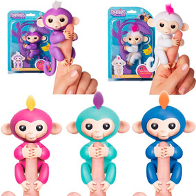 Fingerlings Monito Interactivo 40 Interacciones Tapimovil