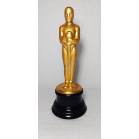 Premio Oscar Figura Cerámica Pintada Grande
