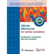 Libro: Cálculo Diferencial En Varias Variables