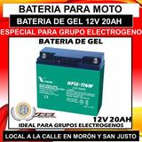 Batería Grupo Electrogeno Vision Hp12-116w 12v 20ah Ups