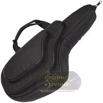 Capa Bag Para Sax Alto Extra Luxo Com 02 Bolsos
