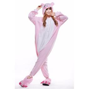 Kigurumi Moda Kawai, Pijama De Cerdito,mameluco Para Adultos