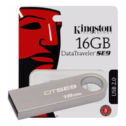 Pendrive Kingston Metalico 16gb Dtse9