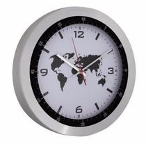 Reloj Mapamundi De Pared ****